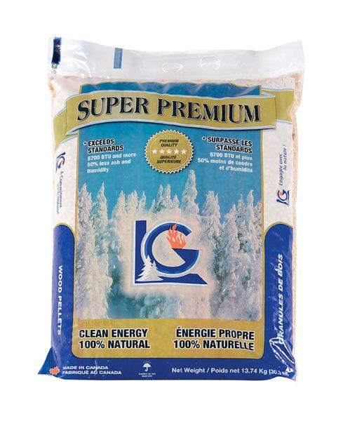 LG Super Premium Wood Pellets