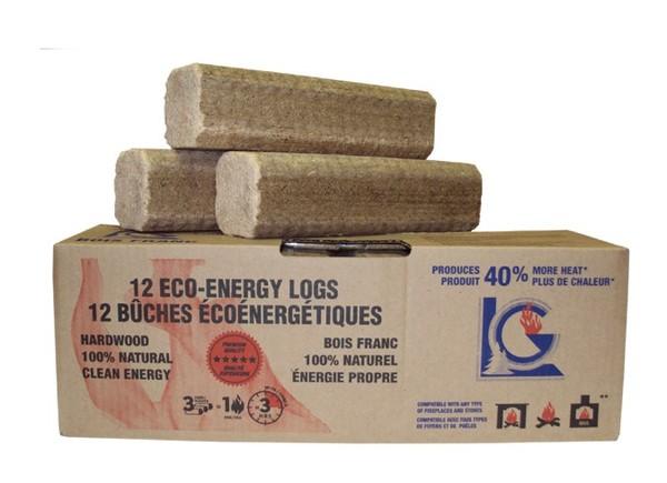 Eco-friendly log