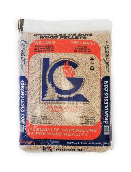 LG Wood pellets